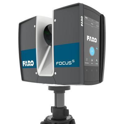 3D Scannen with Faro S70